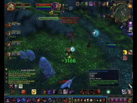 Fluffy 59 twink warrior 1028AP 33.22%crit (видео)