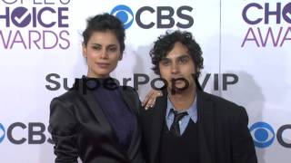 Kunal Nayyar, Neha Kapur at People's Choice Awards 2013 - Arrivals on 1/9/2013 in Los Angeles, CA. Thanks for watching this video! Video Credit: Getty ...