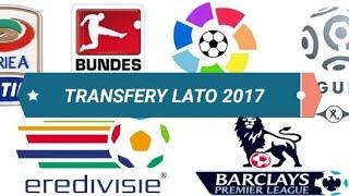 Moja nowa seria prezentująca najnowsze i najciekawsze transfery piłkarskie. Wayne Rooney, James Rodriguez, nowy napastnik Legii Armando Sadiku, Romelu Lukaku i inni. Letnie okno transferowe 2017 jest naprawdę interesujące.