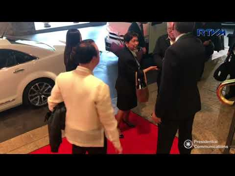 Arrival of Secretary Alan Peter Cayetano in Australia 3/16/2018