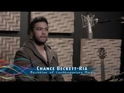 Chance Beckett-Ria - SIT Bachelor of Contemporary Music student
