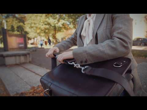 3 in 1 Bag Converts from Satchel to Backpack to Briefcase! Niche Lane Leather Bags