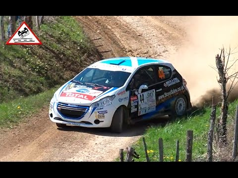 The best of 208 Rally Cup | Le Volant | Rallye Terre des Causses 2015 [Passats de canto]
