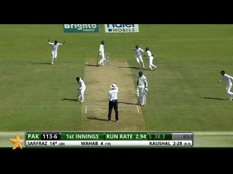 Pakistan Fall of Wickets vs Sri Lanka -  1st Test (2nd Innings), Galle, 2012