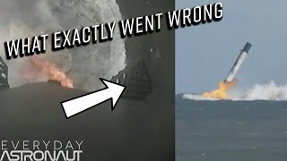Video What Exactly Caused SpaceX's Falcon 9 Landing Failure MP3, 3GP, MP4, WEBM, AVI, FLV Desember 2018