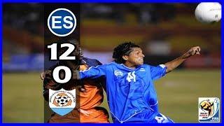 LEG 1/2, EL SALVADOR 12 ANGUILA 0 This was on February 6, 2008. El Salvador faced Anguilla in the debut for both teams in...