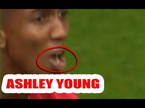 Ashley Young gets unexpected delivery from passing bird