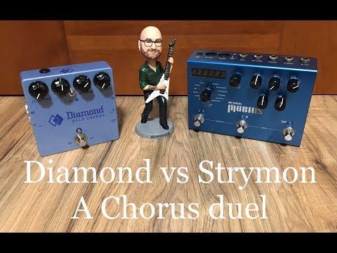 Chorus Shootout Demo - Diamond Halo vs Strymon Mobius