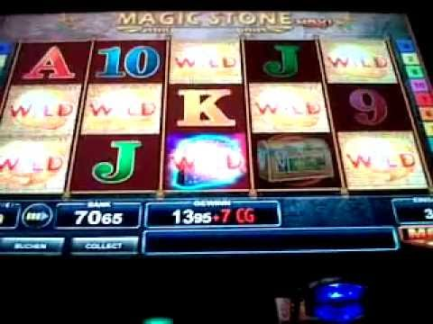 Merkur-Bally Wulff Magic Stone Mit Cash Games