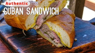 Authentic Cuban Sandwich Recipe | El Cubano | Cuban Pork Sandwich Recipe by Ballistic BBQ