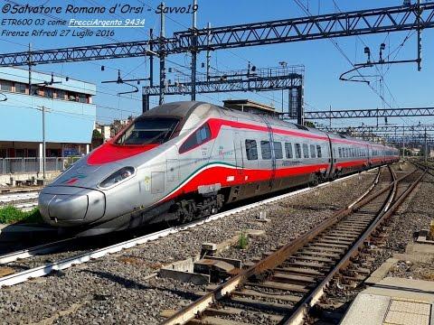 Frecce, Pendolino, Italo e altri treni tra estate e autunno a Firenze Rifredi