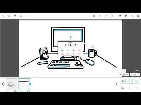 Sparkol VideoScribe | Tutorial 1 - Create your first scene and save v3.3