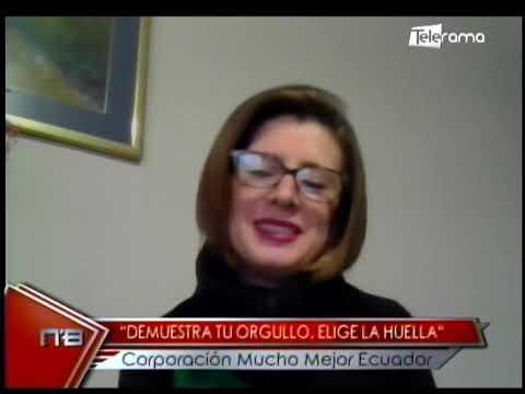 Demuestra tu orgullo, elige la huella Corporación Mucho Mejor Ecuador
