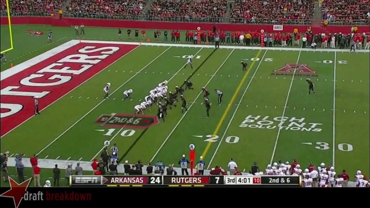Travis Swanson vs Rutgers (2013)