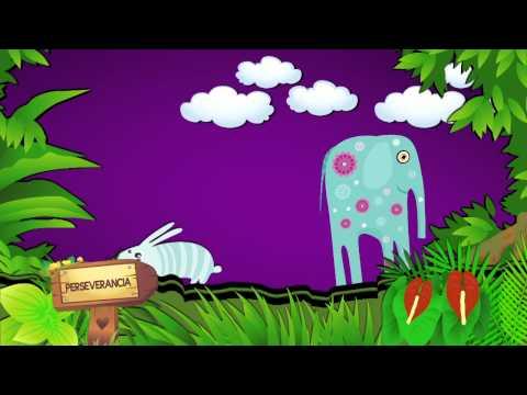 cuentos infantiles un elefante desobediente CreeSiendo (видео)