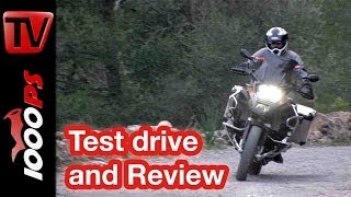 9. BMW R 1200 GS Adventure 2014 | Review | Action, Onboard, Details