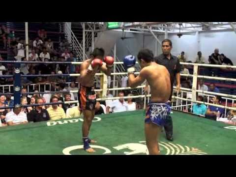 Samingnoi (Tiger Muay Thai) knocks out Chalang (Phuket Top Team) @ Bangla Thai Boxing Stadium