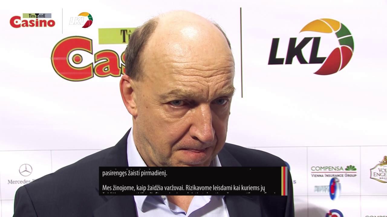 """A.Urlepas: """"Turime laimėti bent vienas iš likusių ketverių rungtynių"""""""