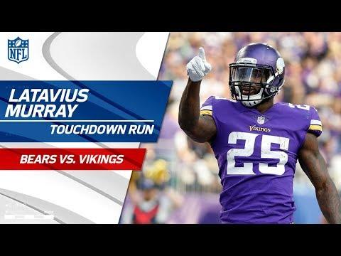 Video: Stefon Diggs Big Catch-'n-Run Leads to Latavius Murray's TD Blast! | Bears vs. Vikings | NFL Wk 17