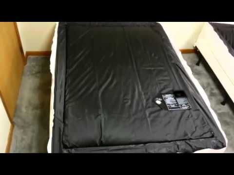 Csillapítatlan vízágy matrac