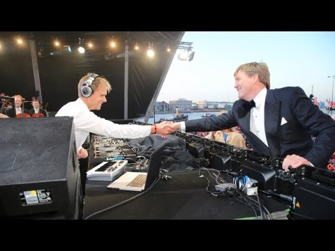 arminvanbuuren - Armin van Buuren performed on April 30th, 2013 with the Royal Concertgebouw Orchestra for the new king Willem-Alexander and queen Máxima of the Netherlands. ...