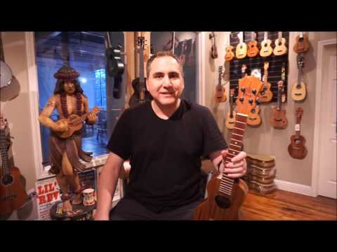 KoAloha KCO-02 Solid Acacia Super Concert Ukulele Demo by UKE Republic