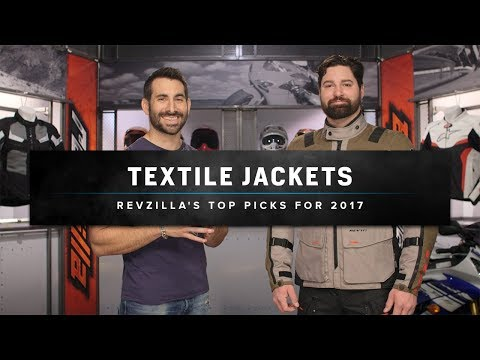 Best Textile Motorcycle Jackets 2017 at RevZilla.com
