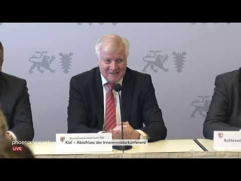 Pressekonferenz zum Abschluss der 210. Innenministerk ...