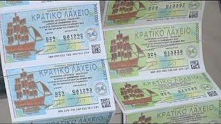 Gregos apostam na lotaria para escapar à crise