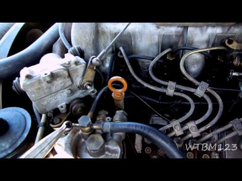 Mercedes D300   Fuel Injector Return Lines and Glow Plugs