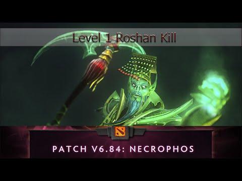 6.84: Necrophos Level 1 Roshan Kill