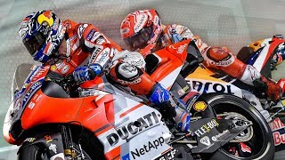 Video After the Flag: Dovizioso and Marquez duel in the desert MP3, 3GP, MP4, WEBM, AVI, FLV April 2018