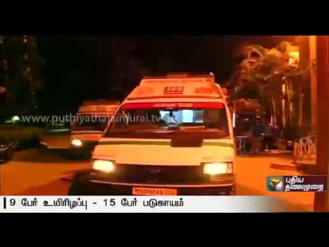 9-killed-and-15-injured-as-bus-falls-into-a-canal-in-Telangana