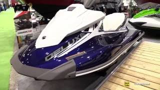 6. 2016 Yamaha VX Deluxe Jet Ski - Walkaround - 2016 Montreal Boat Show