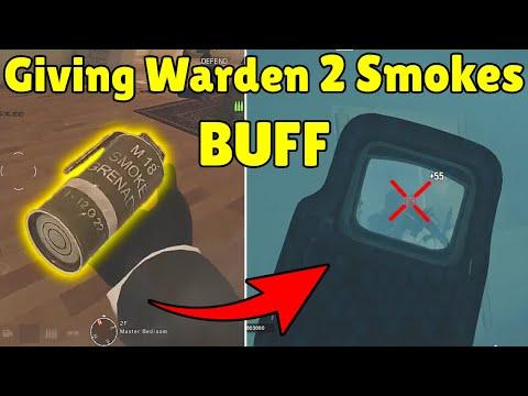 Giving Warden 2 Smokes BUFF Will Make Him PERFECT ( Concept ) | Pro Hiding Spot - Rainbow Six Siege