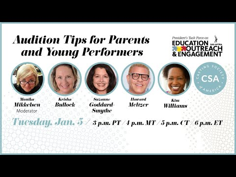Audition Tips for Parents and Young Performers