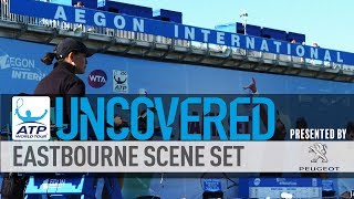 Go behind the scenes with ATP World Tour Uncovered presented by Peugeot at the Aegon International in Eastbourne, where Novak Djokovic starred.Subscribe to our YouTube Channel: http://bit.ly/2dj6EhWVisit the official site of men's professional tennis: http://www.atpworldtour.com/FOLLOW THE ATP WORLD TOURWatch live and on demand: http://www.tennistv.com/Check live scores: http://www.atpworldtour.com/en/scoresView the latest rankings: http://www.atpworldtour.com/en/rankingsMeet the players: http://www.atpworldtour.com/en/playersFollow the tournaments: http://www.atpworldtour.com/en/tourna...Catch up on tennis news: http://www.atpworldtour.com/en/newsJOIN THE CONVERSATION!Download MyATP: http://www.myatp.com/Like us on Facebook: https://www.facebook.com/ATPWorldTour/Follow us on Twitter: https://twitter.com/ATPWorldTourFollow us on Instagram: https://www.instagram.com/atpworldtour/Follow us on Google+: https://plus.google.com/+ATPWorldTour