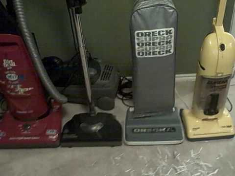 how to unclog my oreck vacuum