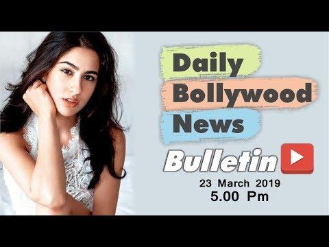 Latest Hindi Entertainment News From Bollywood   Sara Ali Khan   23 March 2019   05:00 PM