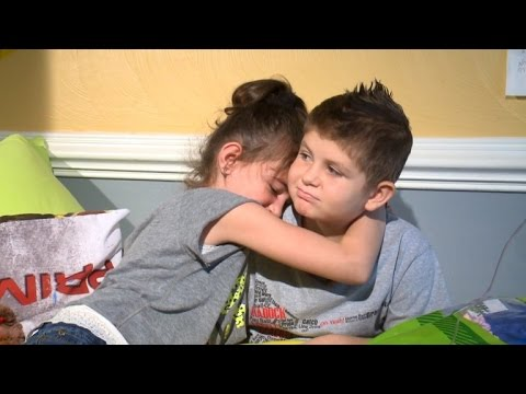 Video 8-Year-Old with Leukemia Finds True Love in Relationship with Classmate download in MP3, 3GP, MP4, WEBM, AVI, FLV January 2017