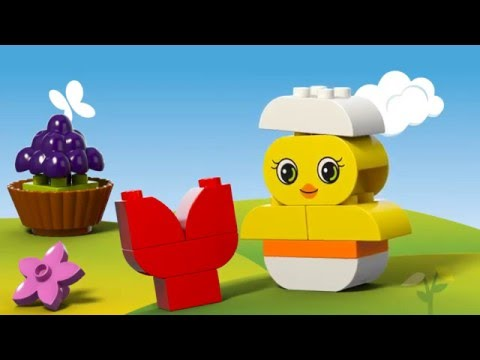 Vidéo LEGO Duplo 10817 : Constructions créatives