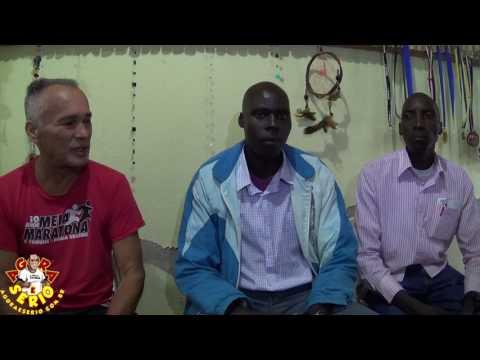 Zantopek apresenta reforço para sua equipe de atletismo os Quenianos Wilhiam e Mats