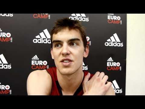 Tomas Satoransky adidas EuroCamp Interview