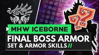Monster Hunter World Iceborne   Final Boss Armor, Weapons & Skills