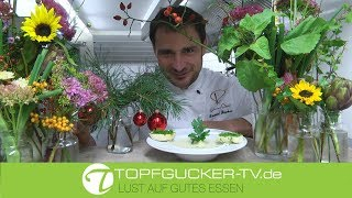 Sellerie - Knoblauch Suppe mit Petersilienbrot | Rezeptempfehlung Topfgucker-TV