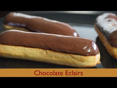 Chocolate Eclairs – Bruno Albouze