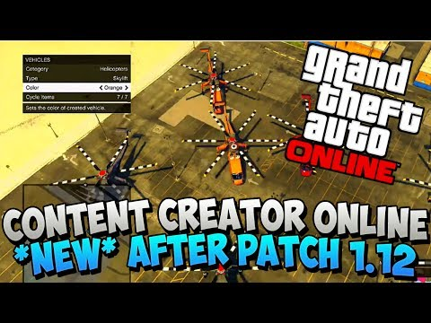 props - GTA 5 Glitches - Spawn Props Glitch - Content Creator After 1.12 in GTA 5 Online (GTA 5 Glitches) - For