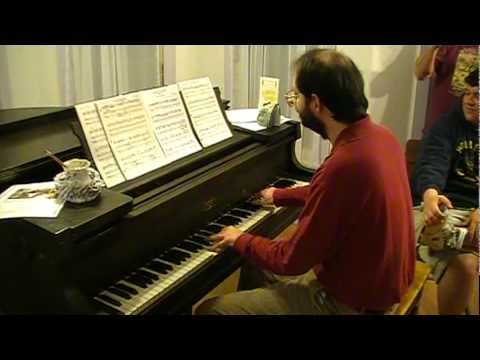 "This guy reads music better than I read English, this is his first attempt at reading ""Ghosts 'n Goblins"" theme"
