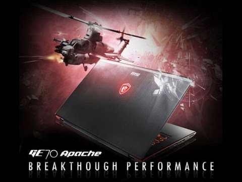 MSI GE70 Apache Pro 2PE Laptop Review