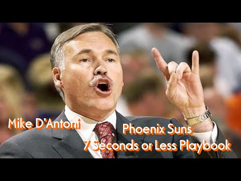 Mike D'Antoni Phoenix Suns 7 Seconds Or Less Playbook